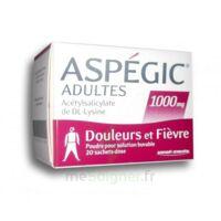 Aspegic Adultes 1000 Mg, Poudre Pour Solution Buvable En Sachet-dose 20 à Saintes