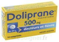 Doliprane 500 Mg Comprimés 2plq/8 (16) à Saintes