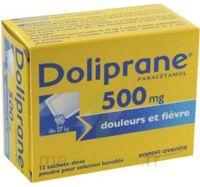 Doliprane 500 Mg Poudre Pour Solution Buvable En Sachet-dose B/12 à Saintes