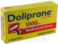 Doliprane 1000 Mg Suppositoires Adulte 2plq/4 (8) à Saintes