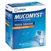Mucomyst 200 Mg Poudre Pour Solution Buvable En Sachet B/18 à Saintes