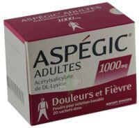 Aspegic Adultes 1000 Mg, Poudre Pour Solution Buvable En Sachet-dose 15 à Saintes