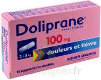 Doliprane 100 Mg Suppositoires Sécables 2plq/5 (10) à Saintes