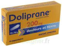 Doliprane 200 Mg Suppositoires 2plq/5 (10) à Saintes