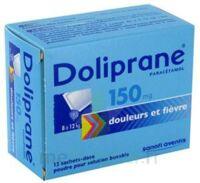 Doliprane 150 Mg Poudre Pour Solution Buvable En Sachet-dose B/12