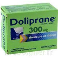 Doliprane 300 Mg Poudre Pour Solution Buvable En Sachet-dose B/12 à Saintes