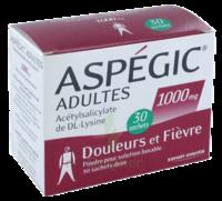 Aspegic Adultes 1000 Mg, Poudre Pour Solution Buvable En Sachet-dose 30 à Saintes