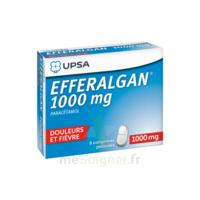 Efferalgan 1000 Mg Comprimés Pelliculés Plq/8 à Saintes