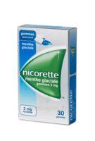 Nicorette 2 Mg Gom à Mâcher Médic Sans Sucre Menthe Glaciale Plq/30gom à Saintes