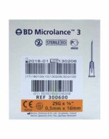 Bd Microlance 3, G25 5/8, 0,5 Mm X 16 Mm, Orange  à Saintes