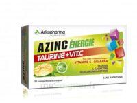 Azinc Energie Taurine + Vitamine C Comprimés à Croquer Dès 15 Ans B/30 à Saintes