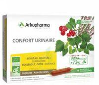 Arkofluide Bio Ultraextract Solution Buvable Confort Urinaire 20 Ampoules/10ml à Saintes