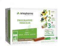Arkofluide Bio Ultraextract Coffret Programme Minceur 3x10 Ampoules/10ml