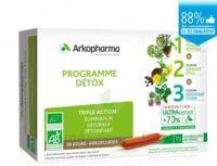 Arkofluide Bio Ultraextract Coffret Programme Détox 3x10 Ampoules/10ml à Saintes