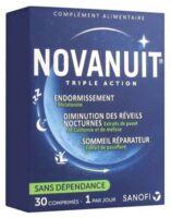 Novanuit Triple Action Comprimés B/30 à Saintes