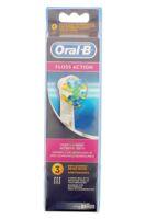 Brossette De Rechange Oral-b Floss Action X 3 à Saintes