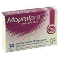 Mopralpro 20 Mg Cpr Gastro-rés Film/14 à Saintes