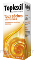 Toplexil 0,33 Mg/ml, Sirop 150ml à Saintes