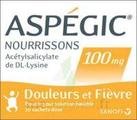 Aspegic Nourrissons 100 Mg, Poudre Pour Solution Buvable En Sachet-dose à Saintes