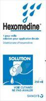 Hexomedine 1 Pour Mille S Appl Loc Fl/250ml à Saintes