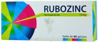 Rubozinc 15 Mg Gél 1plq/60 à Saintes
