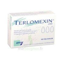 Terlomexin 200 Mg, Capsule Molle Vaginale à Saintes