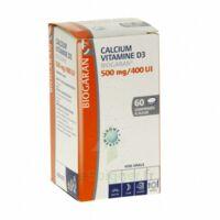 Calcium Vitamine D3 Biogaran 500 Mg/400 Ui, Comprimé à Sucer à Saintes