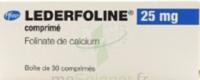 Lederfoline 25 Mg, Comprimé à Saintes