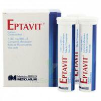 Eptavit 1000 Mg/880 U.i., Comprimé Effervescent T/90 à Saintes