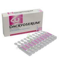 Dacryoserum Solution Pour Lavage Ophtalmique En Récipient Unidose 20unidoses/5ml à Saintes