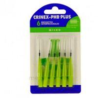 Crinex Phb Plus Brossette Inter-dentaire Micro B/6 à Saintes