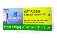 Cetirizine Biogaran Conseil 10 Mg, Comprimé Pelliculé Sécable à Saintes