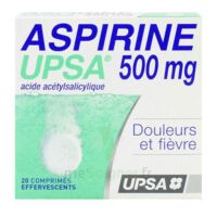 Aspirine Upsa 500 Mg, Comprimé Effervescent à Saintes