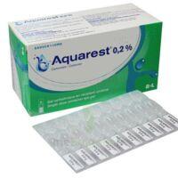 Aquarest 0,2 %, Gel Opthalmique En Récipient Unidose à Saintes
