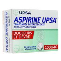 Aspirine Upsa Tamponnee Effervescente 1000 Mg, Comprimé Effervescent à Saintes