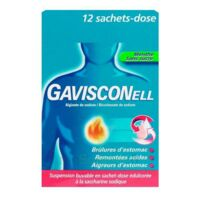 Gavisconell Suspension Buvable Sachet-dose Menthe Sans Sucre 12sach/10ml à Saintes