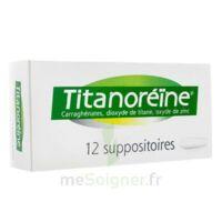 Titanoreine Suppositoires B/12 à Saintes