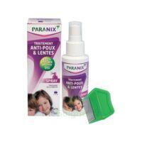 Paranix Solution Antipoux Huiles Essentielles 100ml+peigne à Saintes