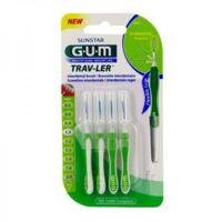 Gum Trav - Ler, 1,1 Mm, Manche Vert , Blister 4 à Saintes