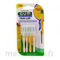 Gum Trav - Ler, 1,3 Mm, Manche Jaune , Blister 4 à Saintes