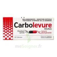 Carbolevure Gélules Adulte Plq/30