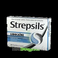 Strepsils Lidocaïne Pastilles Plq/24 à Saintes