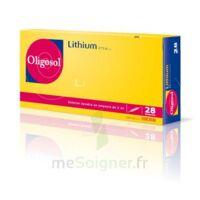 Oligosol Lithium Solution Buvable En Ampoule Ou En Récipient Unidose 28amp/2ml à Saintes