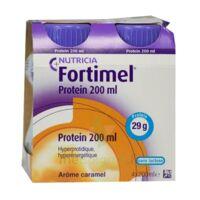 Fortimel Protein Nutriment Caramel 4 Bouteilles/200ml à Saintes