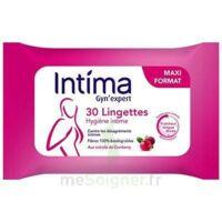 Intima Gyn'expert Lingettes Cranberry Paquet/30 à Saintes