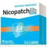 Nicopatchlib 14 Mg/24 H Dispositifs Transdermiques B/7 à Saintes