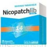 Nicopatchlib 14 Mg/24 H Dispositifs Transdermiques B/28 à Saintes