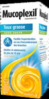Mucoplexil 5 % Sirop édulcoré à La Saccharine Sodique Sans Sucre Adulte Fl/250ml