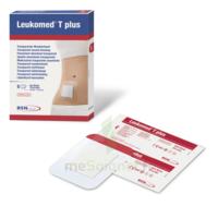 Leukomed T Plus Pansement Adhésif Stérile Avec Compresse Transparent 5x7,2cm B/5 à Saintes