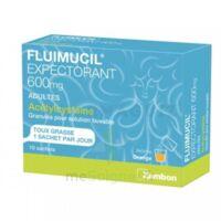 Fluimucil Expectorant Acetylcysteine 600 Mg Glé S Buv Adultes 10sach à Saintes